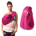 the-baba-sling-baby carrier babasling lite fucsia summer